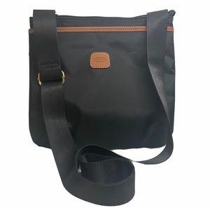 🆕 Bric's Black Nylon Milano Crossbody Handbag